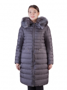Купить женские пуховики больших размеров в Москве недорого в ... c627a7fb06e